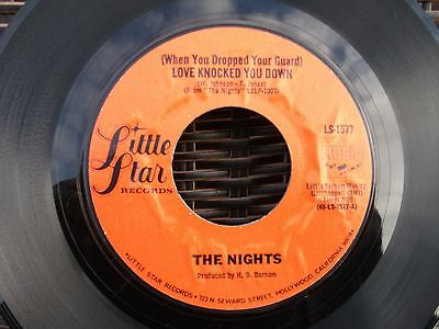 Northern Soul - The  Nights - Love  Knocked  You  Down - Little  Star  Records