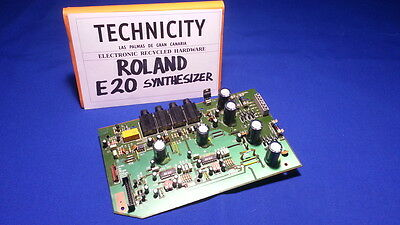 Roland E 20  Synthesizer - Amp Board / Dc Supply  - Placa Multiple  - Tested