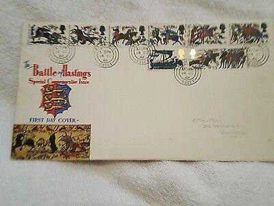 Battle Of Hastings First Day Cover