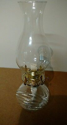 Vintage Decorative Oil Hurricane Lamp