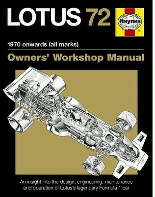 Lotus 72 workshop manual