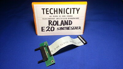 Roland E 20  Synthesizer - Card Reader - Lector De Tarjetas    - Tested