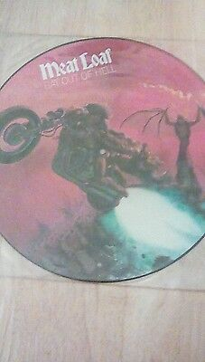 Meat Loaf Bat Out Of Hell Picture Disc