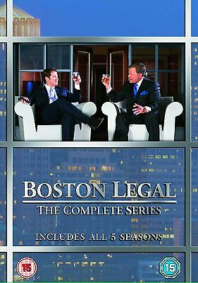 Boston Legal - The Complete Season (Series) 1 2 3 4 & 5 Box Set Collection | DVD