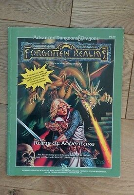Ruins of Adventure - Forgotten Realms Advanced Dungeons & Dragons TSR 9238