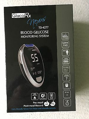 Gluco RX Nexus Blood Glucose Monitoring System