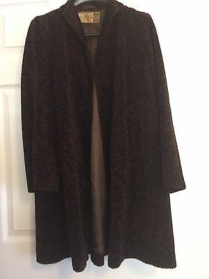 Lovely Vintage Rodex of London Swing Coat, approx. size 12