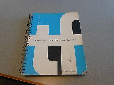 ART DIRECTOR's BOOK OF TYPE FACES Biegeleisen Typefaces Printing Press1970 2nd