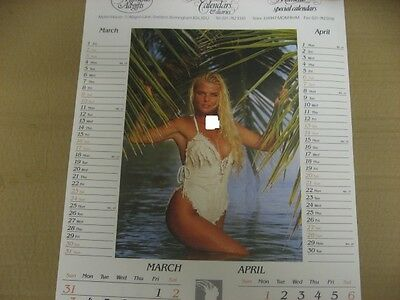 Sandra Jane Moore, Other Page 3 Girls Calendar From 1989