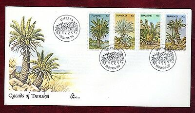 TRANSKEI STAMPS- Cycads, FDC, 1980