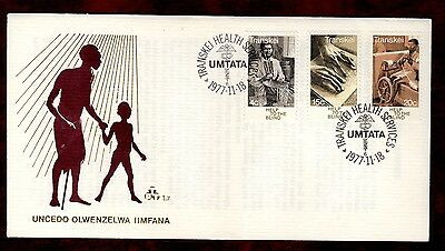 TRANSKEI STAMPS- Blind Care,   FDC, 1977