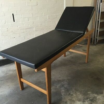 Vintage doctor's examination  couch