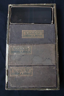 WW1 Original 'Lumiére & Jougla' 80 French Glass Photographs
