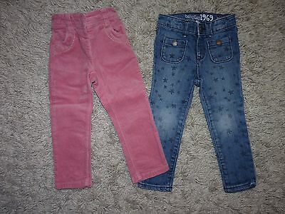 NEXT AND GAP BABY GIRLS 2x TROUSERS BUNDLE AGE 1.5-2 YEARS,VGC