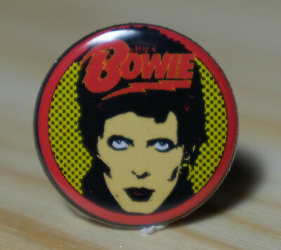 DAVID BOWIE - Diamond Dogs 1974 - PROMO Collectors Badge Pin-back FIVE YEARS