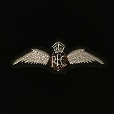RFC. Wings - WWI - Embroidered