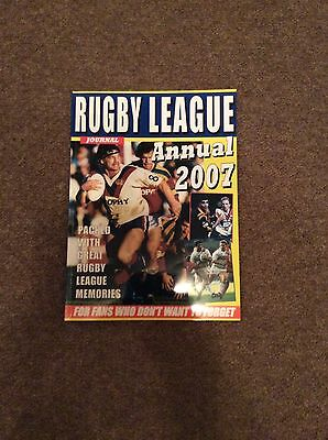 Rugby League Journal Annual,2007.
