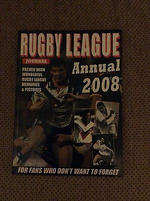 Rugby League Journal Annual 2008