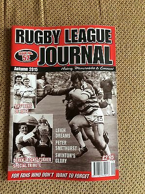 Rugby League Journal,issue 52-Autumn 2015.