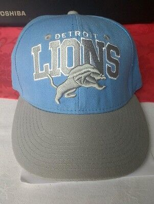 DETROIT LIONS Mitchell and Ness CAP / HAT