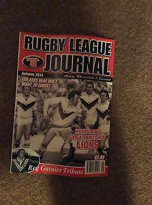 Rugby League Journal,issue 48.
