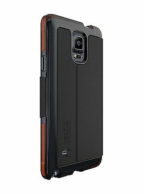 T21-4377 New Tech21 Classic Wallet Case for Samsung Galaxy Note 4 - Black