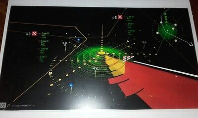 Star Wars Original Computer screen Laminate Prop Force Awakens COA