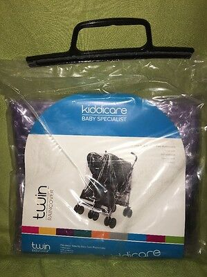 Twin  Rain Cover To Fit Side By Side Twin Stroller