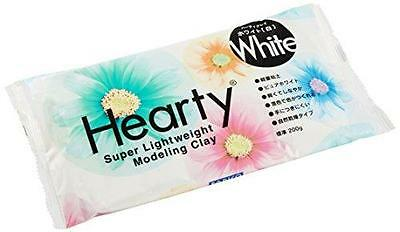 Hearty White 200g Super Light Weight Modelling Clay by Padico made in Japan