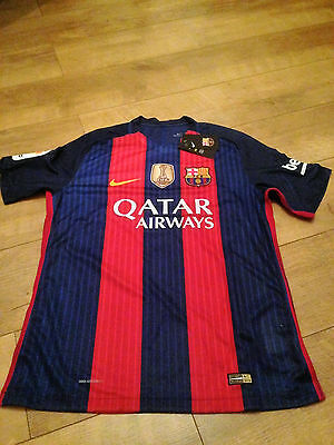 NIKE AEROSWIFT SUAREZ (9) 16/17 Official KIT + SOCKS Barcelona Size XL