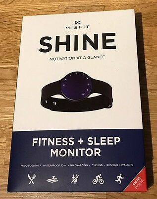 Misfit Shine Personal Physical Fitness + Sleep Activity Monitor. Waterproof NEW