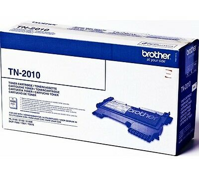 Brother TN-2010 Genuine Original Black Toner Cartridge 2130 2132 2135 7055 7057