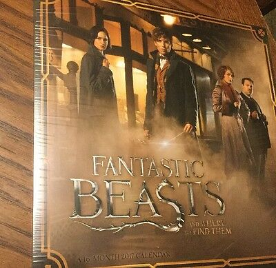 Fantastic Beasts And Where To Find Them 16 Month Calendar, Dateworks