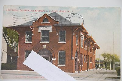 Fort Dodge Des Moines & Southern Depot in Boone, IOWA