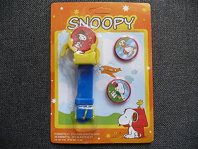 Snoopy Plastic Disc Toy Watch