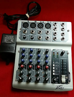 Peavey PV6 Channel Mixer