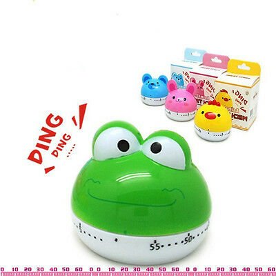 Time Reminders Cartoon Kitchen Mechanical Alarm Clock Countdown Cooking Tools
