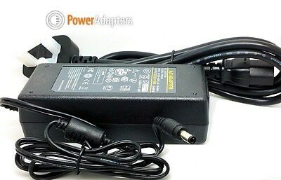 5v 10a AC-DC power supply adapter charger with 5.5mm 2.5mm plug and uk cable