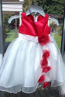 Wedding Party Bridesmaid Formal Gown Flower Girls Dresses Tulle AGE 1-2