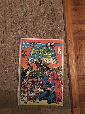 Heroes Agains't Hunger Comic Book
