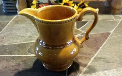 Vintage Lord Nelson Pottery England Ceramic Pitcher 1 Quart