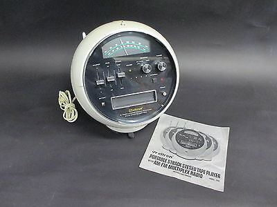 Vintage Weltron Space Ball 8 Track Stereo & AM / FM Radio Model 2001