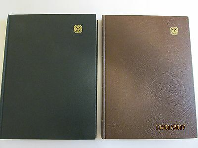 Two Very Nice Mawir Stamp Stock Books with Stamps very good condition
