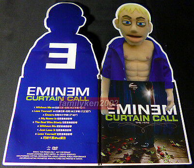 Taiwan Promo Necklace + 9-Tracks DVD RARE! EMINEM 2005 Curtain Call The Hits