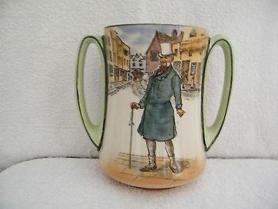 Royal Doulton Dickens Ware loving cup