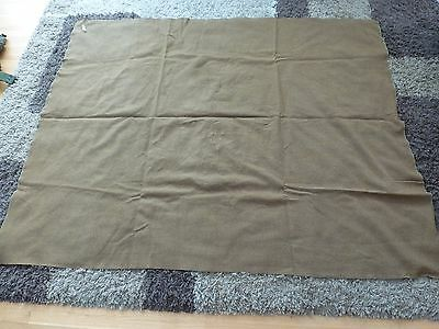 Vintage US Army Wool Blanket Military WWII Korea Era Camping