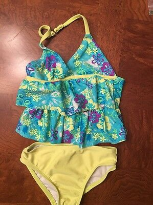 Toddler Girls OP Two Piece Tankini Swimsuit-Size 3T