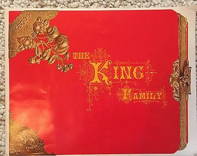 The King Family Program Book with Photos from 1974 concert  Alvino Rey Orchestra