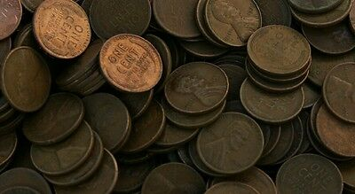 Huge Weekend Buy of Unsearched Wheat Penny Roll From Lot Being Sold CHEAP