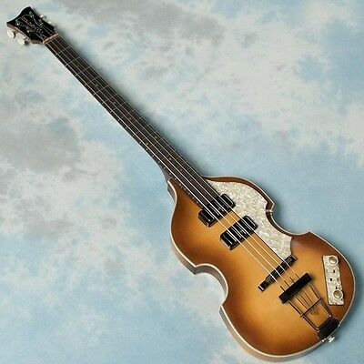 "Hofner/500/1 Vintage '61 ""Cavern Bass w/hard case From JAPAN Free shipping #G175"